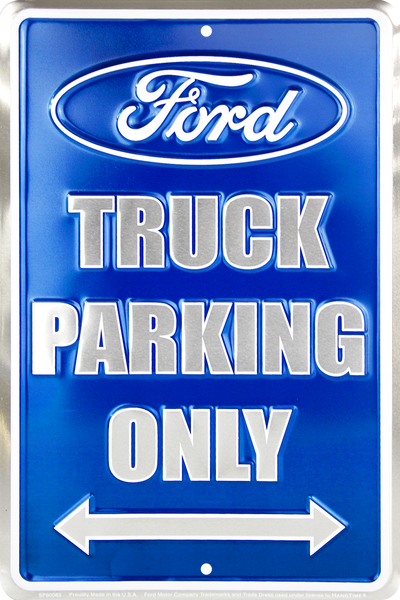SP80082 - Ford Truck Parking Only