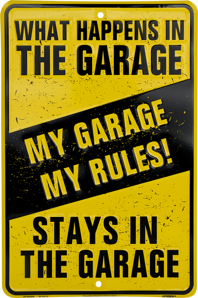 SP80088 - My Garage My Rules