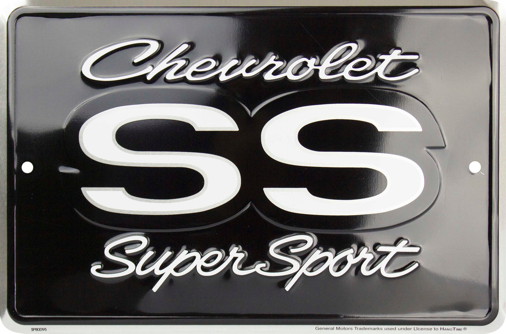 SP80095 - Chevrolet SS Super Sport Small Parking Signs