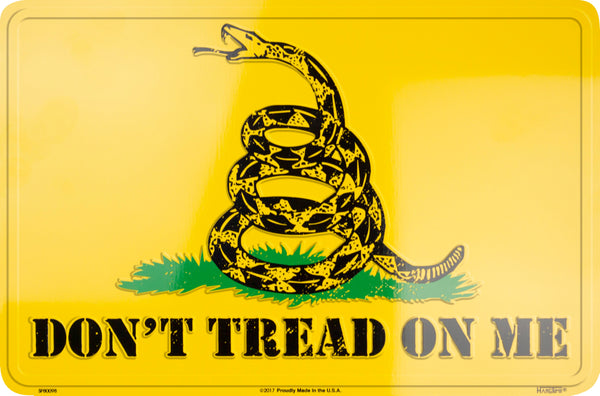 SP80098- Don't Tread On Me Parking Sign