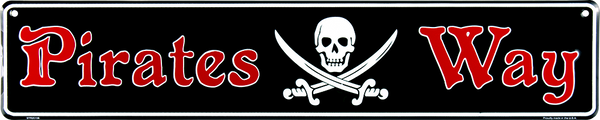 STR20106 - Pirates Way with Skull & Crossing Swords
