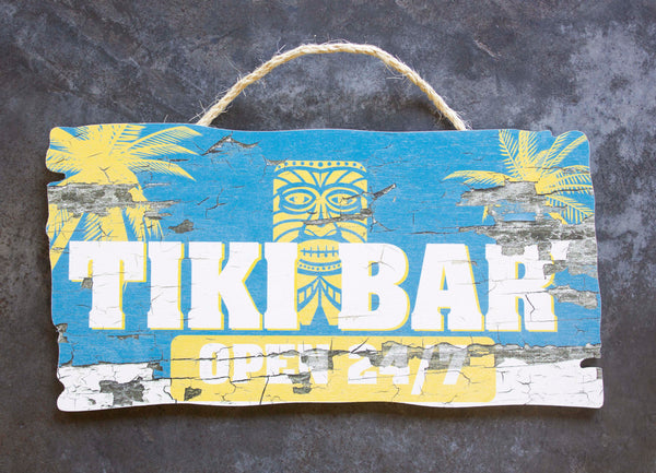 W35000 - Tiki Bar Wood Signs