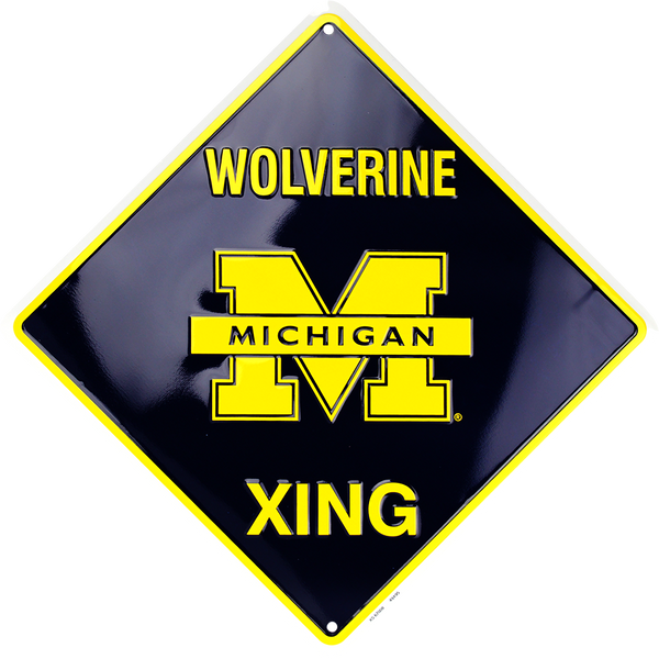 XS67008 - Michigan Wolverine Xing