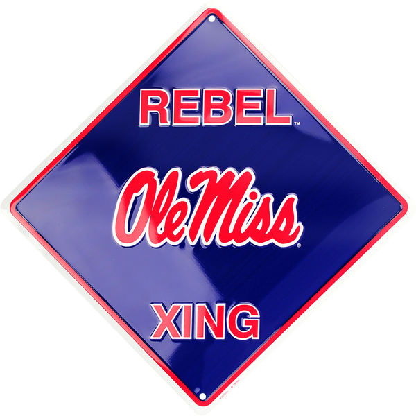 XS67022 - Ole Miss Rebel Xing
