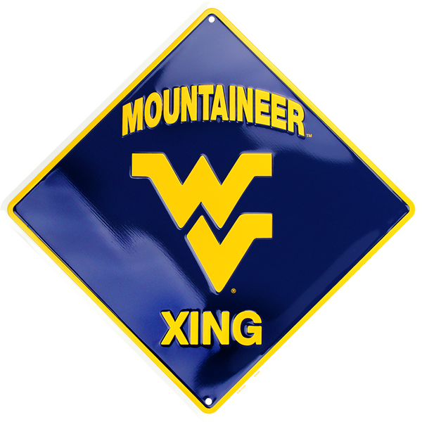 XS67046 - West Virginia Mountaineer Xing