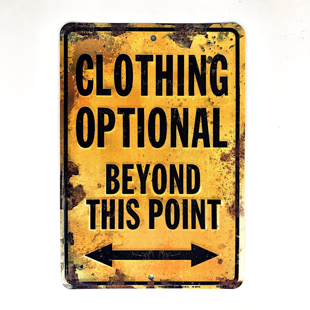 MC80103 - Clothing Optional Beyond This Point