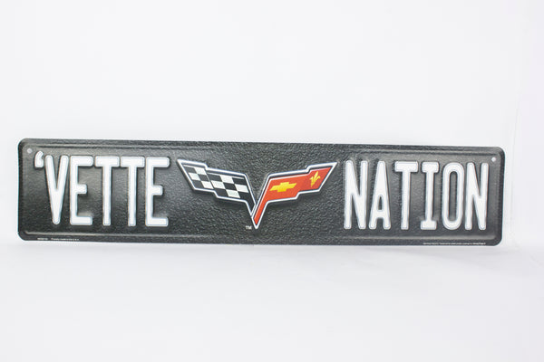 MC20124 - Vette Nation Corvette Logo