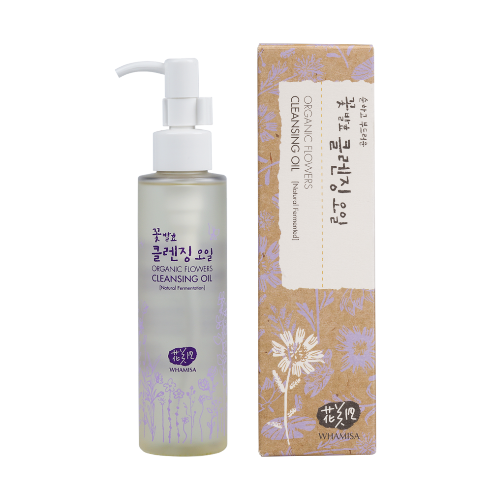 Organic Flowers Cleansing Oil - Whamisa