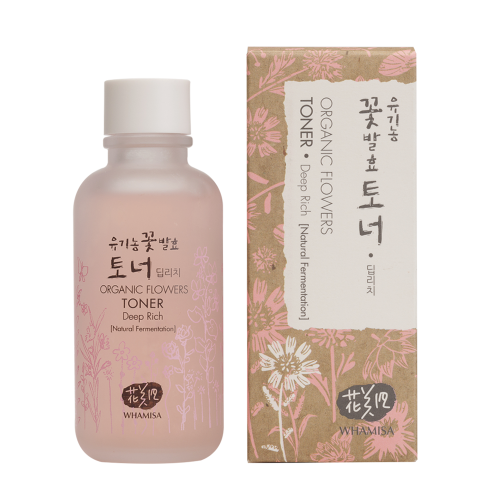 Organic Flowers Deep Rich Toner