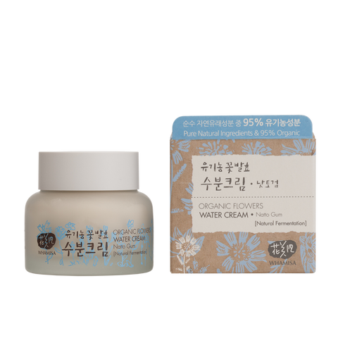 Organic Flowers Water Cream - Whamisa