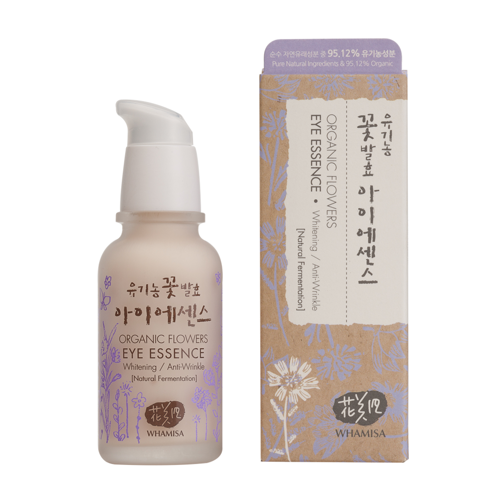 Organic Flowers Eye Essence - Whamisa