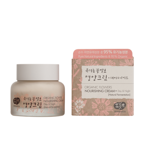 Organic Flowers Nourishing Cream - Whamisa