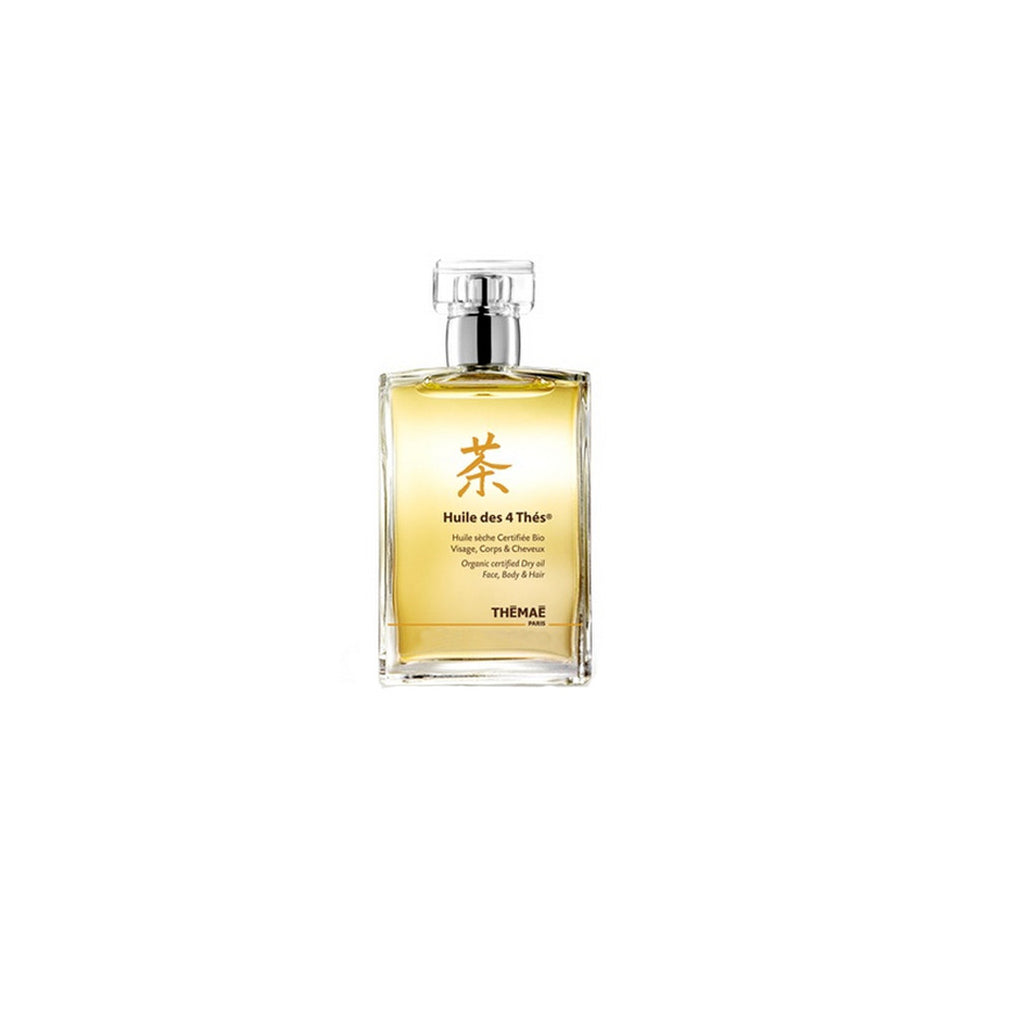 Huile Des 4 Thés Organic Certified Dry Oil - Themae