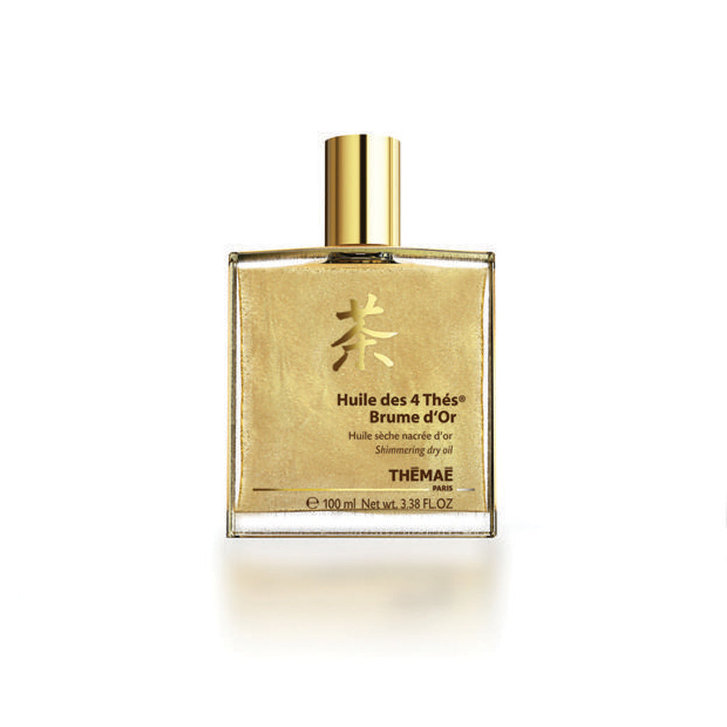 Huile Des 4 Thés Brume D´Or Shimmering Dry Oil - Thémaé - The Beauty Blazers - Themae