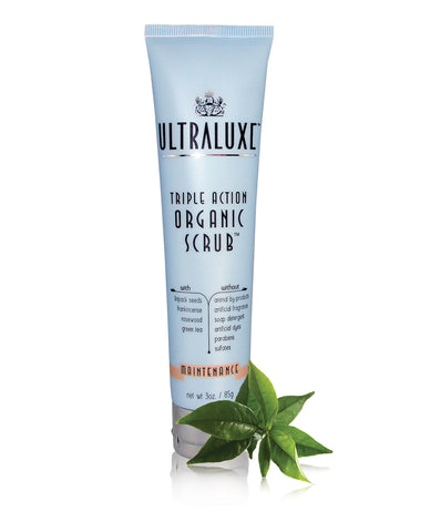 Triple Action Organic Scrub - Maintenance - UltraLuxe - The Beauty Blazers - UltraLuxe