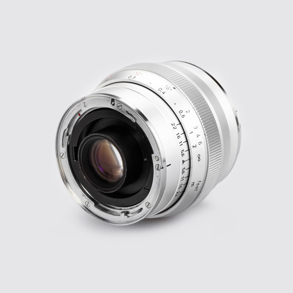 Carl Zeiss f. Contarex Distagon 2.8/25mm chrome – Vintage Cameras & Lenses – Coeln Cameras