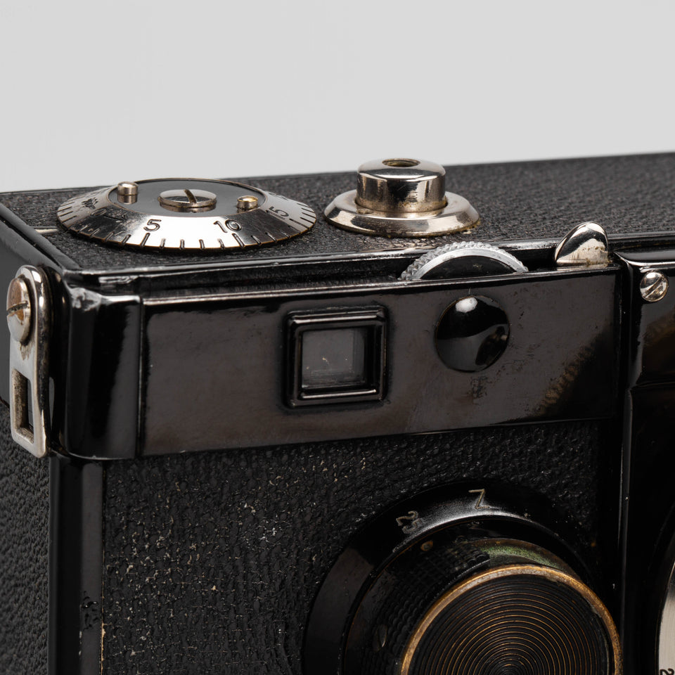 Zeiss Ikon Contax I Type 2, detail – Vintage Cameras & Lenses – Coeln Cameras