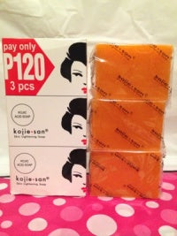 skin lightening soap 3 pack