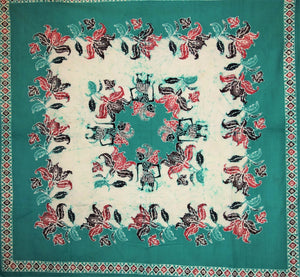 "Square Tablecloth 52"" x 52"" including 4 napkins"