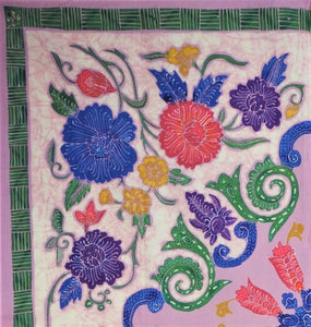 "Square Tablecloth 54"" x 54"" including 4 napkins"