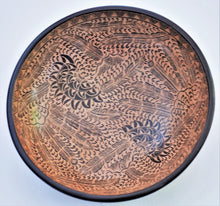 "Load image into Gallery viewer, Wooden Bowl 11 "" wide and 3"" deep"