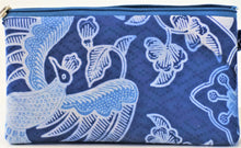 "Load image into Gallery viewer, Cosmetic Bag 7.25"" x 4"" - 3 Sections"