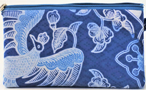 "Cosmetic Bag 7.25"" x 4"" - 3 Sections"