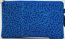 "Load image into Gallery viewer, Cosmetic Bag 7.5"" x 4.25"" - 3 Sections"