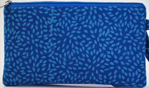 "Cosmetic Bag 7.5"" x 4.25"" - 3 Sections"