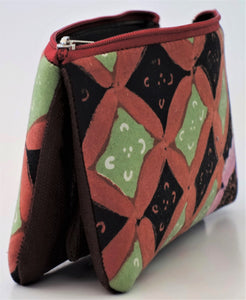 "Cosmetic Bag 7.5"" x 4.5"" - 3 Sections"
