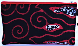 "Cosmetic Bag 7.25"" x 4.25"" - 3 sections"