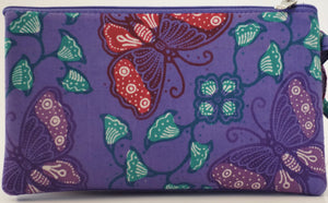 "Cosmetic Bag 7 x 4"" - 3 Sections"