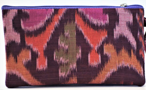 "Cosmetic Bag 7"" x 4"" - 3 Sections"