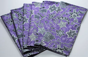 "Table Napkins 10"" x 10"" Set of 6"