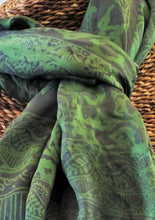 "Load image into Gallery viewer, Silk Scarf 22"" x 62"""
