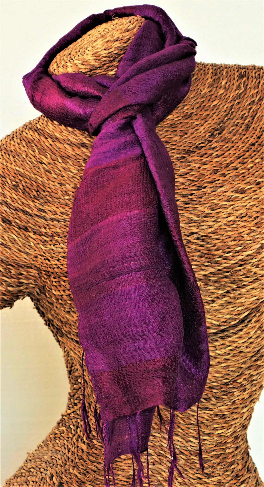 Thai Silk Scarf 17
