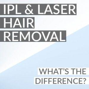 IPL and Laser Hair Removal: What's the Difference?