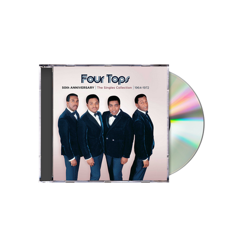 The Four Tops 50th Anniversary: The Singles Collection 1964-1972 CD Box Set