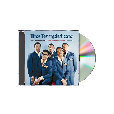 The Temptations 50th Anniversary: The Singles Collection 1961-1971 CD BOX SET