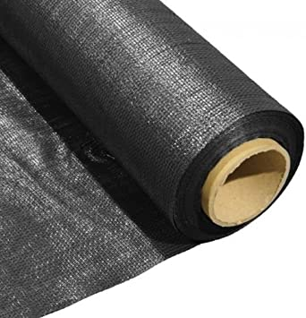 Artificial Grass Anti-Root Geotextile Underlay Weed Control - 25m x 2m - Rickwood Flooring Furniture Blinds