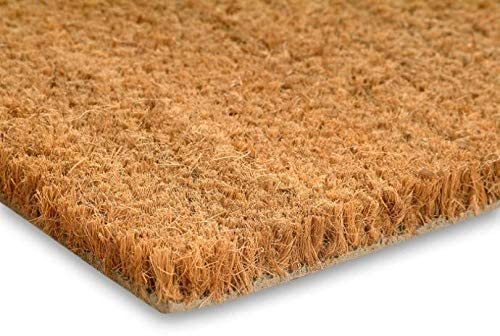 Natural Entrance Coir Matting - 1m wide - Rickwood Flooring Furniture Blinds
