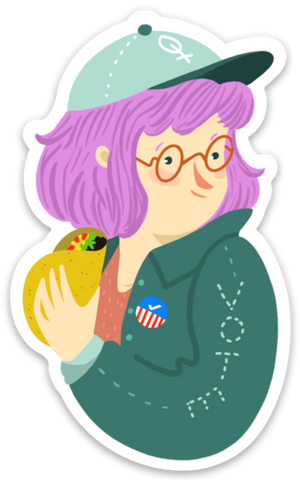 Voter Girls sticker pack