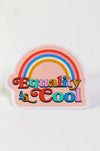 Equality is Cool sticker