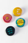 Being Human Button Pack