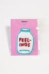 Feelings chenille patch