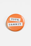 Vote Dammit button