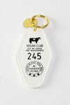 Vegan Club Key Tag
