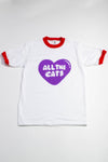 Heart All The Cats Tee