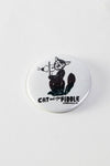 Cat & the fiddle button