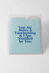 Brave And Fascinating Greeting Card